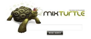 Mix Turtle es un sencillo reproductor de canciones Online